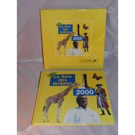 Livre des timbres 2000 Complet avec timbres neufs tintin tabarly philatélie