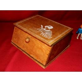Boite à timbres meuble metier tiroir rangement