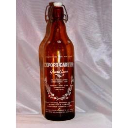 Bouteille biere vintage brasserie carlier 1956 Dunkerque