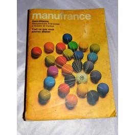 Catalogue MANUFRANCE 1968 armes vélo vintage outils