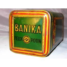Boite CACAO BANIKA FELIX POTIN VINTAGE 1 Kg