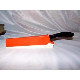 Couteau téfal aiguiseur cuisine vintage années 70 TBE