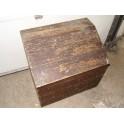 Coffre malle meuble rangement jouet bar bois vintage antiquité industrielle