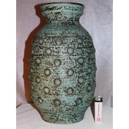 Vase JASBA 35 cm céramique allemande 157635 années 60 vintage