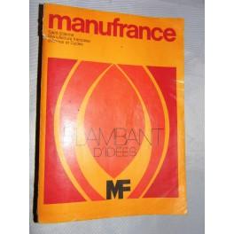 Catalogue MANUFRANCE 1970 jouet, voiture à pédales, vélo vintage , photo, horlogerie