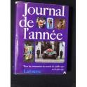 Journal de l'année 1970 71  LAROUSSE livre vintage evenements marquants