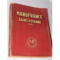 Catalogue MANUFRANCE 1954 jouet, moto, vélo vintage , tandems, photo, horlogerie