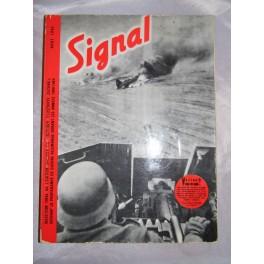 SIGNAL aout 1943 WW2 guerre mondiale militaria militaire 39-45