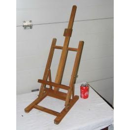 Chevalet peinture 70 cm portrait photo pliable en bois