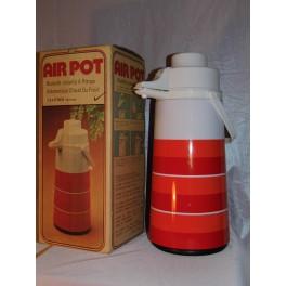 Thermos vintage + boite d'origine neuf AIR POT 1,9 litre