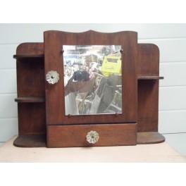 Armoire à pharmacie vintage ancien meuble de métier rangement