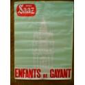 2 affiches publicitaires biere SAAZ BEFFROI DOUAI café bistrot brasserie