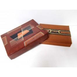 2 anciennes boites à cigarettes seita design vintage