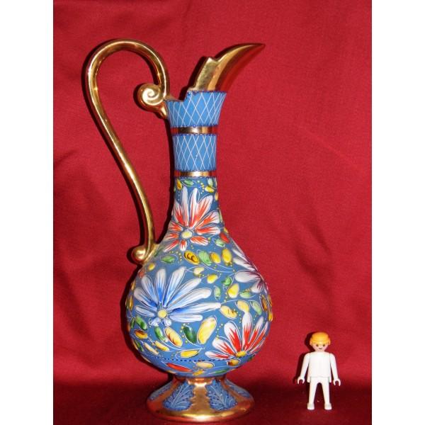 aiguiere vase faience c ramique h bequet quaregnon au d p t d 39 achille. Black Bedroom Furniture Sets. Home Design Ideas