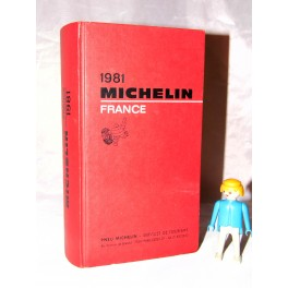 guide michelin 1981 guide rouge france