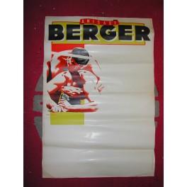 2 Affiches publicité BERGER RICARD PASTIS enseigne