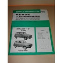 Revue technique voiture ancienne vintage renault 6