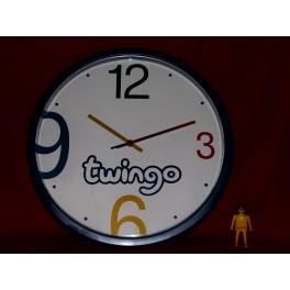 horloge pendule publicitaire renault twingo