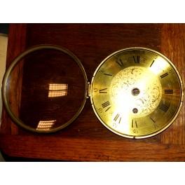 Cadran horloge pendule comtoise horlogerie