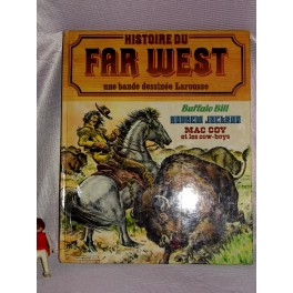 BD bande dessinée Histoire du FAR WEST BUFFALO BILL