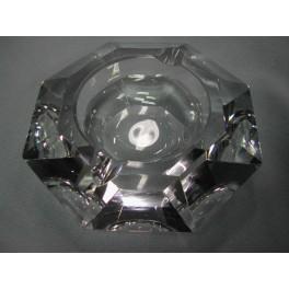 cendrier cristal octogonal val saint lambert