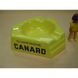 Cendrier de collection canard faience kg kuneville