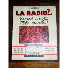 LA RADIO mais c 'est si simple 1955 TSF AISBERG