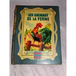 Livre Ancien Les Animaux A La Ferme 1949 1952 Au Depot D