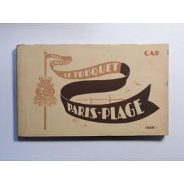 Cartes postales LE TOUQUET  PARIS PLAGEannées 20 30 carnet complet