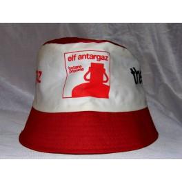 BOB vintage chapeau années 70 ELF ANTARGAZ